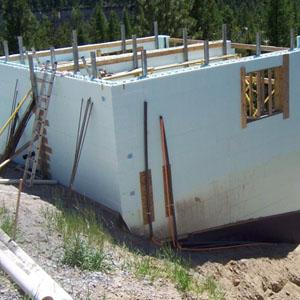 Kootenay 39 s icfs nudura insulated concrete forms for Nudura cost per square foot